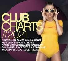 Club Charts 2021, 2 CDs