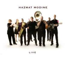 Hazmat Modine: Live, CD