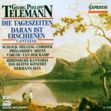 """Georg Philipp Telemann (1681-1767): Oratorium """"Die Tageszeiten"""", CD"""