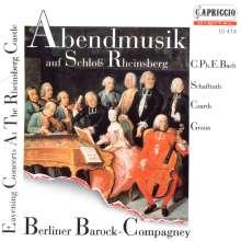Abendmusik auf Schloß Rheinsberg, CD