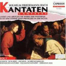 Wilhelm Friedemann Bach (1710-1784): Kantaten Vol.1, CD