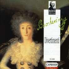 Luigi Boccherini (1743-1805): Divertimenti für Flöte & Streicher, CD