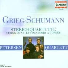 Edvard Grieg (1843-1907): Streichquartett op.27, CD