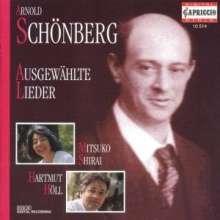 Arnold Schönberg (1874-1951): 20 Lieder, CD