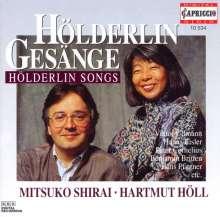 Mitsuko Shirai singt Hölderlin-Lieder, CD
