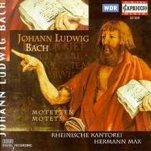 Johann Ludwig Bach (1677-1731): Motetten, CD