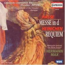 Johann David Heinichen (1683-1729): Requiem, CD