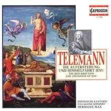 Georg Philipp Telemann (1681-1767): Auferstehung & Himmelfahrt Jesu TWV 6:6, CD