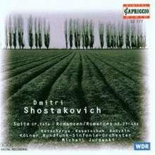 Dmitri Schostakowitsch (1906-1975): Michelangelo-Suite op.145a für Baß & Orchester, CD