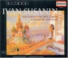 """Michael Glinka (1804-1857): Iwan Sussanin (""""Ein Leben für den Zaren""""), 3 CDs"""