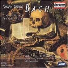 Johann Ludwig Bach (1677-1731): Trauermusik (f.Soli,Doppelchor,2 Orchester), CD