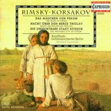 Nikolai Rimsky-Korssakoff (1844-1908): Nacht auf dem Berge Triglav-Suite, CD