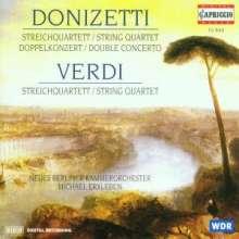 Gaetano Donizetti (1797-1848): Konzert f.Violine,Cello & Orchester, CD