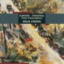 Franz Schreker (1878-1934): Kammersymphonie für Klavier (arr.Strasfogel), CD