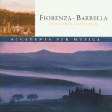 Nicolo Fiorenza (1700-1764): Sinfonias, CD