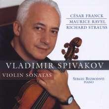 Vladimir Spiwakow spielt Violinsonaten, CD