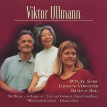 Viktor Ullmann (1898-1944): Lieder, CD