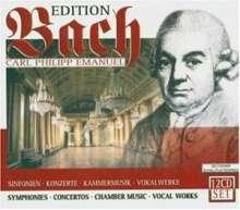 Carl Philipp Emanuel Bach (1714-1788): Edition Carl Philipp Emanuel Bach, 12 CDs