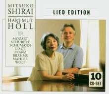 Mitsuko Shirai - Lied Edition, 10 CDs