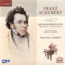 Franz Schubert (1797-1828): Klaviersonaten (Ges.-Aufn.), 6 CDs