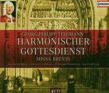 """Georg Philipp Telemann (1681-1767): Kantaten aus """"Harmonischer Gottesdienst"""", 4 CDs"""