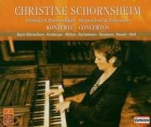 Christine Schornsheim - Cembalo- & Klavierkonzerte, 3 CDs