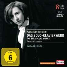 Alexander Scriabin (1872-1915): Das Solo-Klavierwerk, 8 CDs