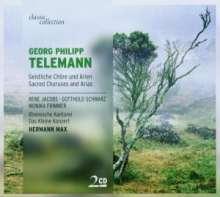 Georg Philipp Telemann (1681-1767): Geistliche Chöre & Arien, 2 CDs