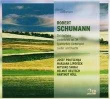 Robert Schumann (1810-1856): Spanisches Liederspiel op.74, 2 CDs