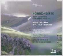 Hornkonzerte, 2 CDs