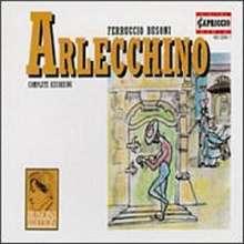 Ferruccio Busoni (1866-1924): Arlecchino (Oper in 1 Akt), CD