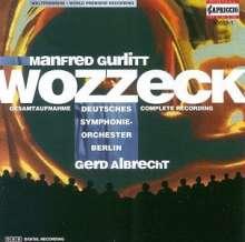 Manfred Gurlitt (1890-1972): Wozzeck, CD