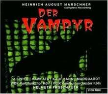 Heinrich August Marschner (1795-1861): Der Vampyr, 2 CDs