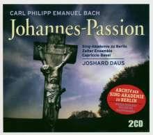 Carl Philipp Emanuel Bach (1714-1788): Johannes-Passion H.785, 2 CDs