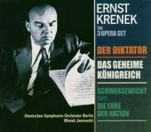 Ernst Krenek (1900-1991): 3 Kurzopern, 2 CDs