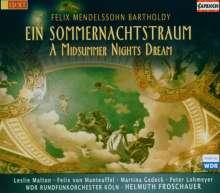 Felix Mendelssohn Bartholdy (1809-1847): Ein Sommernachtstraum, 2 CDs