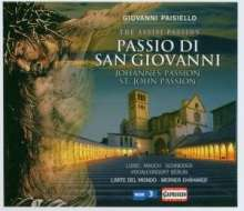 Giovanni Paisiello (1740-1816): Passione di San Giovanni (The Assisi Passion), CD