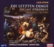 "Louis Spohr (1784-1859): Die letzten Dinge (""Apocalypse""), CD"