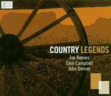 Reeves/Campbell/Denver: Country Legends, 3 CDs