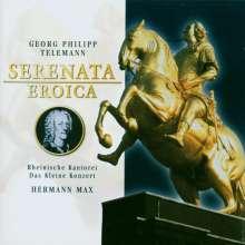 """Georg Philipp Telemann (1681-1767): Serenata eroica TWV4:7 """"Trauermusik für August den Starken"""", 2 CDs"""