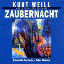 Kurt Weill (1900-1950): Zaubernacht (Ballettpantomime), CD