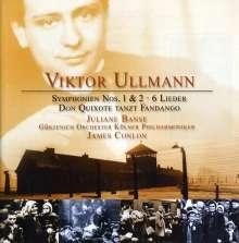 Viktor Ullmann (1898-1944): Symphonien Nr.1 & 2, CD