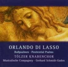 "Orlando di Lasso (Lassus) (1532-1594): Psalmi penitentialis ""Bußpsalmen"" Vol.1, CD"