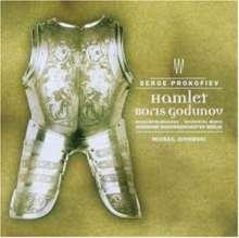 Serge Prokofieff (1891-1953): Boris Godunow op.70b (Schauspielmusik), CD