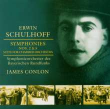 Erwin Schulhoff (1894-1942): Symphonien Nr.2 & 5, CD