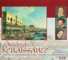 Meister der Renaissance, 3 CDs