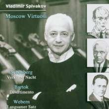Moscow Virtuosi - Werke des 20.Jahrhunderts für Streicher, CD