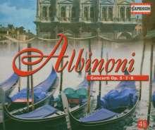 Tomaso Albinoni (1671-1751): Concerti op.5 Nr.1-12;op.7 Nr.1-12;op.9 Nr.1-12, 4 CDs