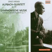 Ernst Krenek (1900-1991): Symphonische Musik für 9 Instrumente op.11, CD