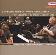 Reinhold Friedrich - Trumpet & Percussion, CD